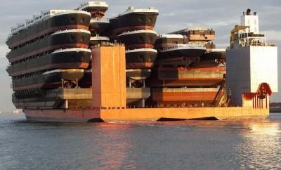 The Blue Marlin cargo ship