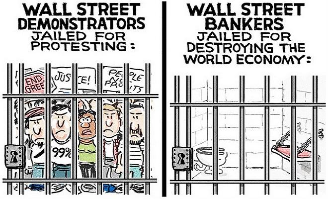 HangthebankersWall-street-protesters-vs-bankers