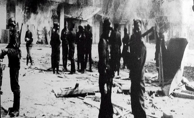 NS-Massaker 1944 im griechischen Distomo