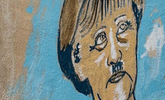 Ausschnitt eines Graffiti in Athen