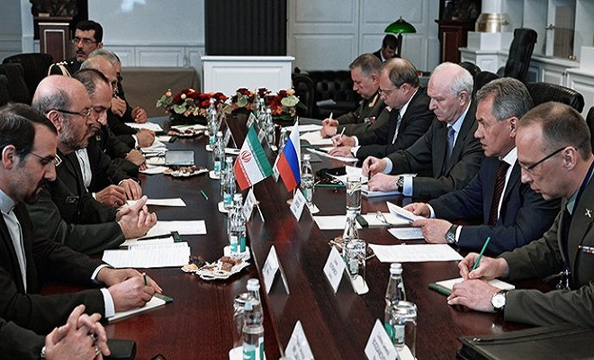 RIANovostiIliyaPitalevShoigu-and-Dehgan-meeting-at-IV-MCIS