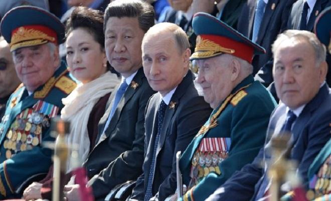 RadioSinolandXi-Putin-Nazarbaev-on-Vday-www.thesaker.is_1