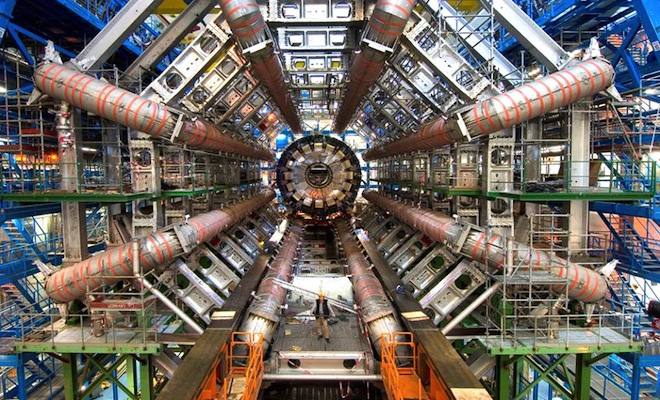 CERN-particle-accelerator-in-Switzerland