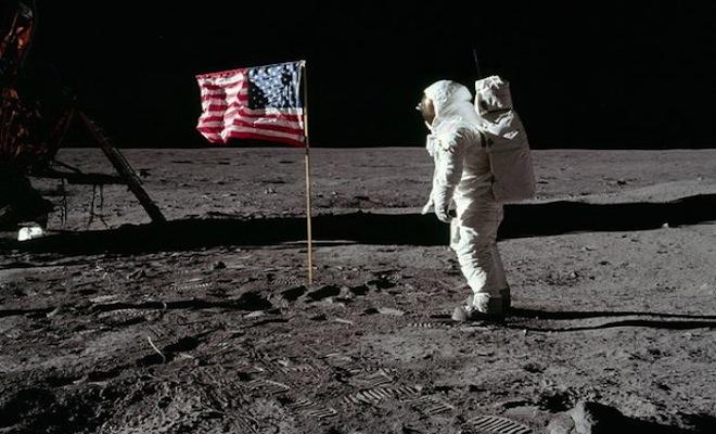 buzz salutes flag