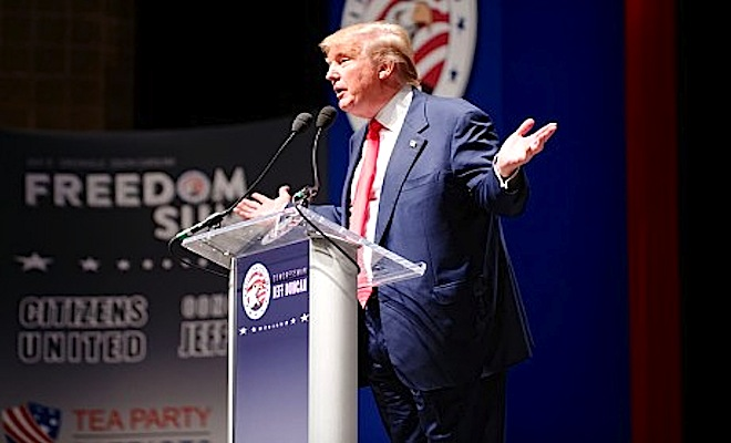 Donald-Trump-At-Podium-Photo-by-Michael-Vadon-460x306