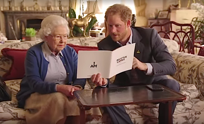 Queen and Harry 2016-04-30 at 6.16.48 PM