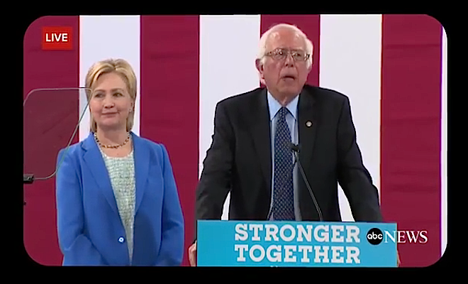 Hillary and Bernie 2016-07-14 at 9.51.19 PM