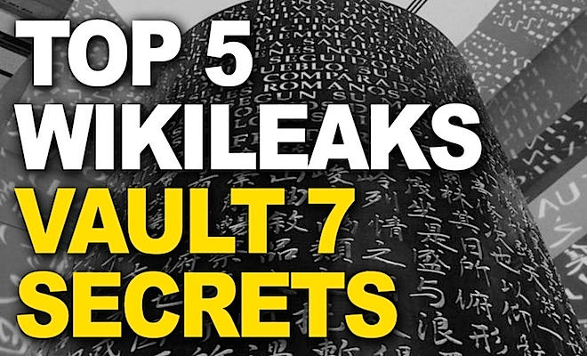 5 vault 7 cia secrets revealed by wikileaks the phaser for Vault of secrets